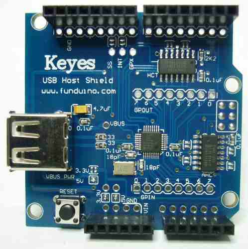 Usb host shield arduino uno mega leonardo due robot avr