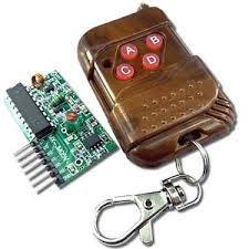 Control Remoto Modulo De Rf Receptor Y Transmisor Arduino