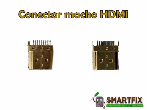 Conector Jack Macho Hdmi Roku Stick Android Tv Chrome Cast