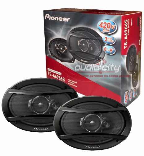 Juego De Bocinas Pioneer 6x9 Ts-a6966s 420 Watts 3 Vías