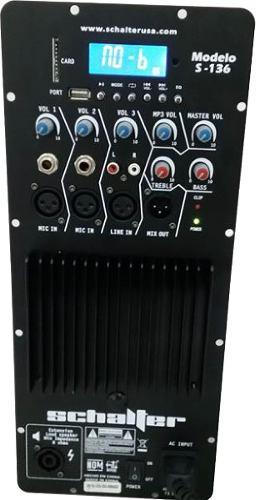 Modulo Amplificador Karaoke Rockolas Usb Sd Fm 5500 W Pmpo