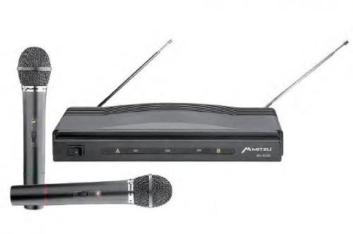 Par De Microfonos Inalambrico Dimamicos Hasta 50m Karaoke
