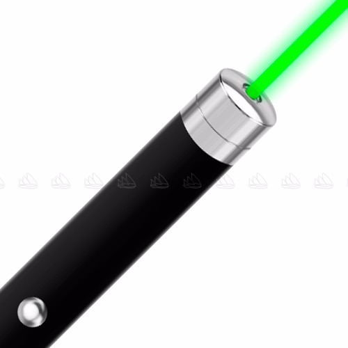 Apuntador Láser Verde 50mw Haz De Luz Visible 5km + Baterías