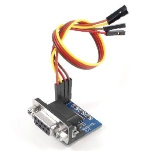 Arduino: Rs232 A Ttl Con Max3232 Y Db9 + Cables Dupont