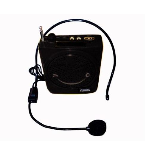 Bocina Portable Con Microfono Megafono