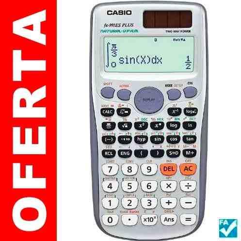 Calculadora Científica Casio Fx991es Plus - 417 Funciones