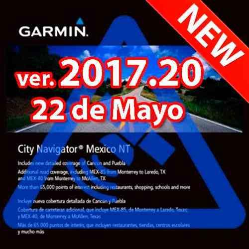 Garmin Mapa De México Actualizado