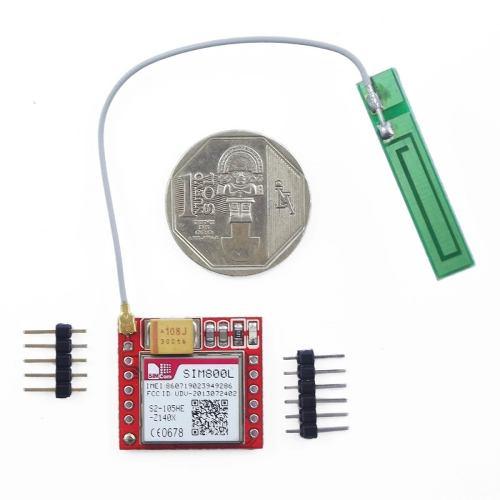 Modulo Modem Gsm Gprs Sim800 Con Antena No Sim900 Refactron