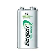 Pilas Recargables Energizer 9v 175 Mah Nuevas En Blister
