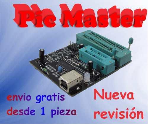 Programador Usb Pic Master Prog Dspic Eeprom ¡envio Gratis!