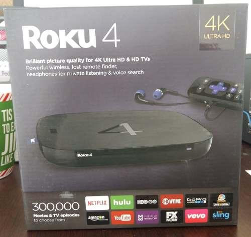 Roku 4 4k Ultra Full Hd 1080p 2016 (nuevo
