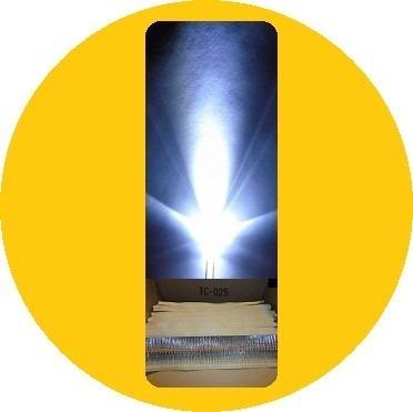 1000 Led Ultrabrillante De 5mm Con 1000 Resistencias — Dhl en Web Electro
