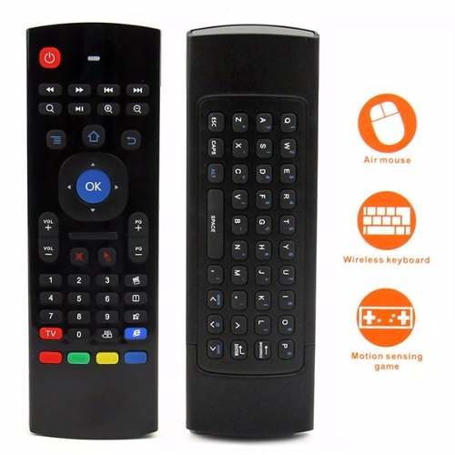 Air Fly Mouse Con Mini Teclado 2 En 1 Android Tv Box Windows en Web Electro