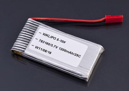 Bateria 2s 3.7v 1200mah Walkera Wklipo-5#10 5g4q3 Syma S006 en Web Electro