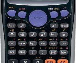 Calculadora Científica Casio Fx 85es Plus. Con Panel Solar en Web Electro