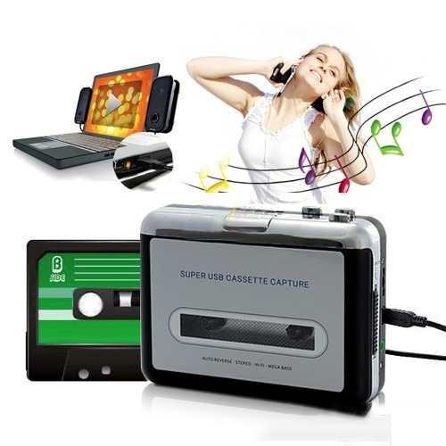 Convertidor De Cassette A Mp3 Usb Grabadora Walkman G2001 en Web Electro