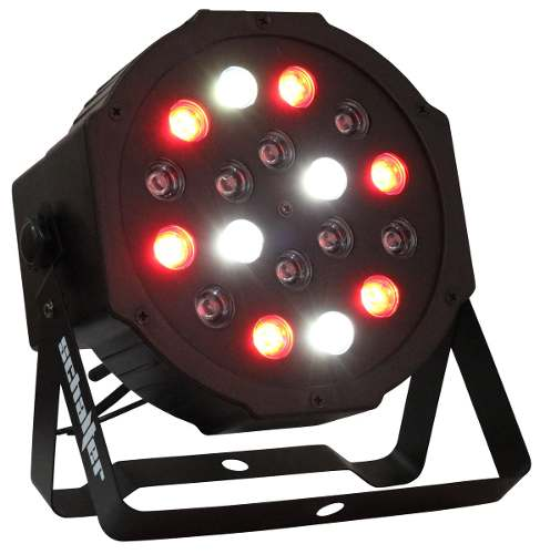 Lampara 18 Led Multicolor Dmx Dj Luces Rockolas Kareoke en Web Electro