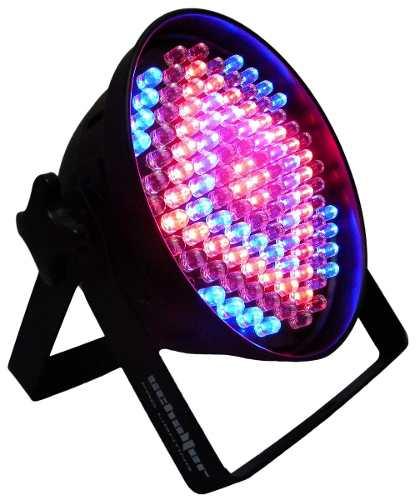 Luz Disc Estroboscopica Led Multicolor Control De Velocidad* en Web Electro