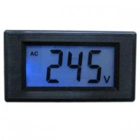 Panel Voltimetro Digital De Ac De 0 A 500vac De Lcd en Web Electro