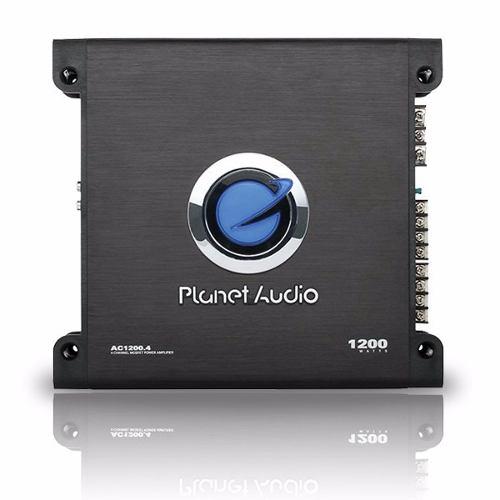 Amplificador Planet Audio Ac1200.4 Clase A/b 1200w 4 Canales en Web Electro