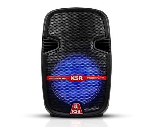 Bafle Amplificado 12 P Profesional Recargable Bluetooth Led en Web Electro