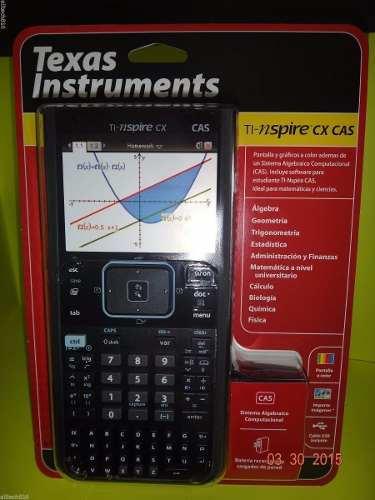 Calculadora Texas Instruments Ti Nspire Cx Cas |