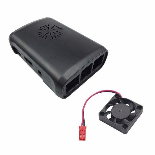 Carcasa Con Ventilador Para Raspberry Pi 3 B