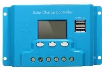 Controlador De Carga Solar 30a Sistema Fotovoltaico en Web Electro