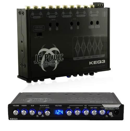 Ecualizador Con Epicentro Jc Power 5 Bandas Keq3 Aux Oferta en Web Electro