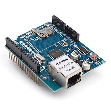 Ethernet Shield W5100 Base Micro Sd Arduino