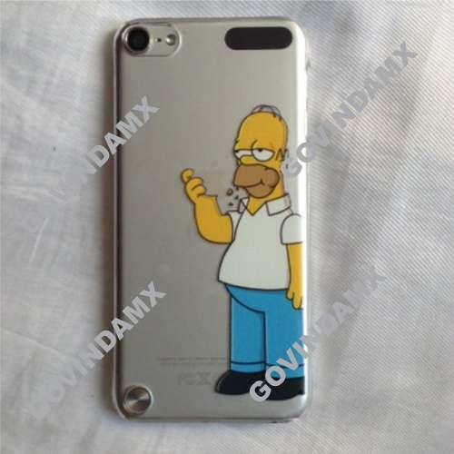 Funda Crystal Case Ipod Touch 5 Homero Comiendo Con Envío en Web Electro