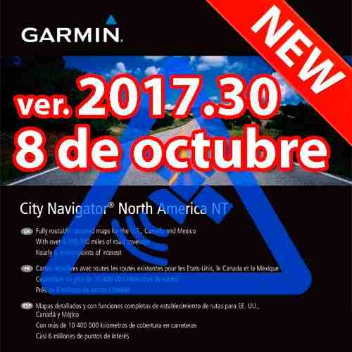 Garmin North America Actualizado Descargable