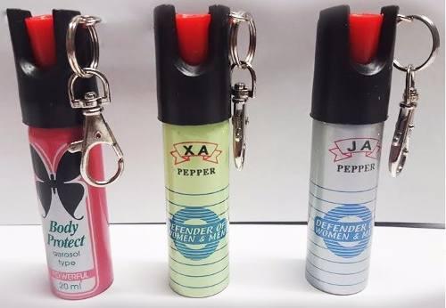 Gas Pimienta Llavero Para Defensa Personal