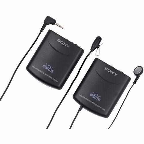 Nuevo Sony Wcs-999 Microfono Lavalier Inalambricos 900 Mhz en Web Electro