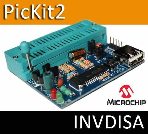 Programador Pic Pickit2 Microchip Microcontrolador Pic