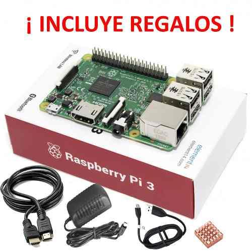Raspberry Pi 3 Incluye Regalos Y Accesorios Gratis en Web Electro