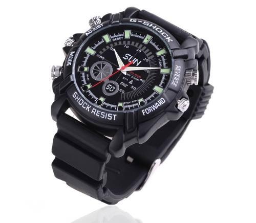Reloj Espia Con Camara Vision Nocturna Full Hd 8gb Mod.2 !!!