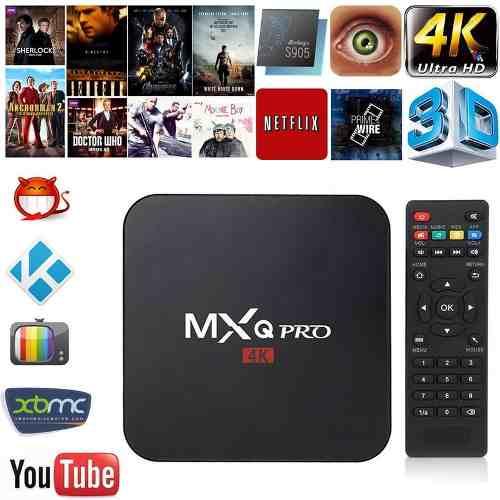 Smart Tv Box Mxq Pro 4k Android 5.1 Quad-core 64bits 2.0 Ghz en Web Electro