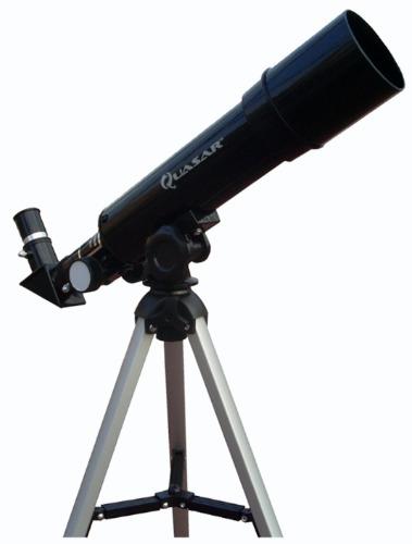 Telescopio 100% Cristal Quasar Q50m Con Maleta Y Software en Web Electro