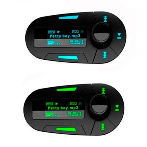 Transmisor Fm Mp3 Player Para Auto Lector Usb/sd/mmc Plug F1 en Web Electro