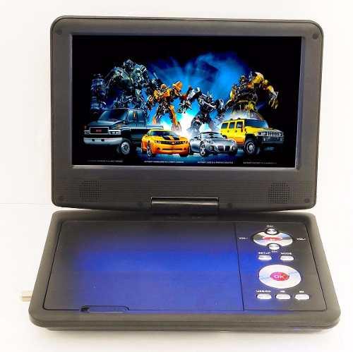 Tv Digital Portatil Pantalla Lcd 7 Con Dvd Usb Sd Entrada Av en Web Electro