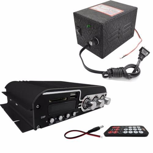 Amplificador 1400w Usb Sd Y Fm 4 Canales Eliminador Fuente en Web Electro