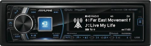 Autoestereo Alpine Pantalla Grafica Iphone Facebook Hd149bt