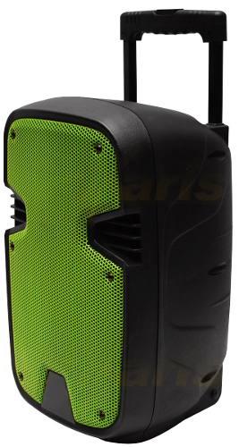 Bafle 8 Pulg. Bateria Rec. Bluetooth Usb Sd Y Auxiliar Xaris en Web Electro
