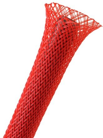 Protector Manga Cable Techflex 1/2 Electronica Rojo 30mt Sq