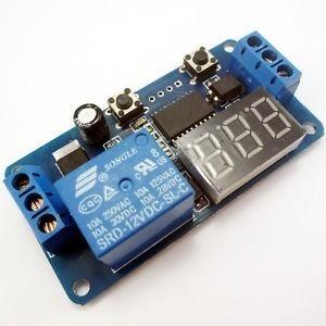 Relevador Delay Switch Programable 12v Automatización en Web Electro