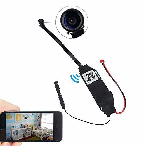 Mini Camara Espia Wifi Para Iphone Y Android Con Power Bank