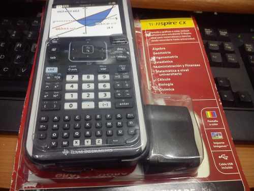 Calculadora Texas Instruments Ti-nspire Cx |