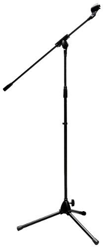 Pedestal Universal Para Microfono Con Tripie Ajustable Xaris