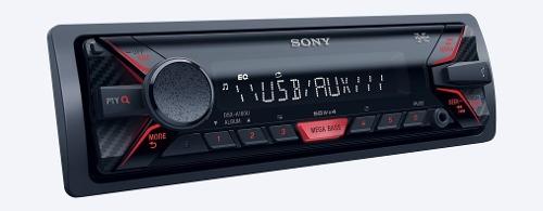 Autoestereo Sony Dsx-a100u Usb Auxiliar Mega Bass 55w X 4